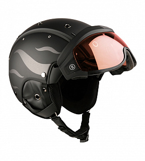 B-Visor Flames Black Matt